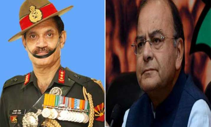 jaitley lt. gen. suhag s appointment as army chief is final