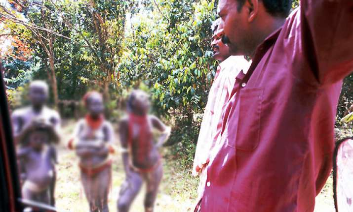 controversy over video footage of tribals dance in andamans