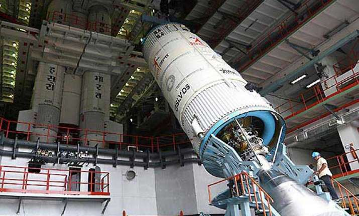 countdown for gslv d5 launch to begin at 11.50 am tomorrow