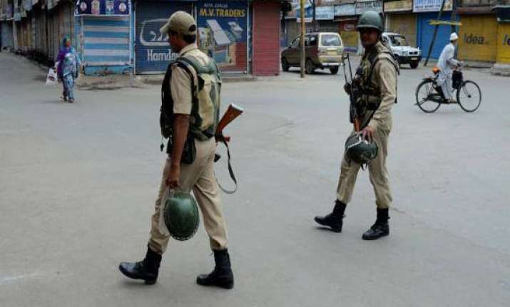curfew continues in kishtwar looted weapons found