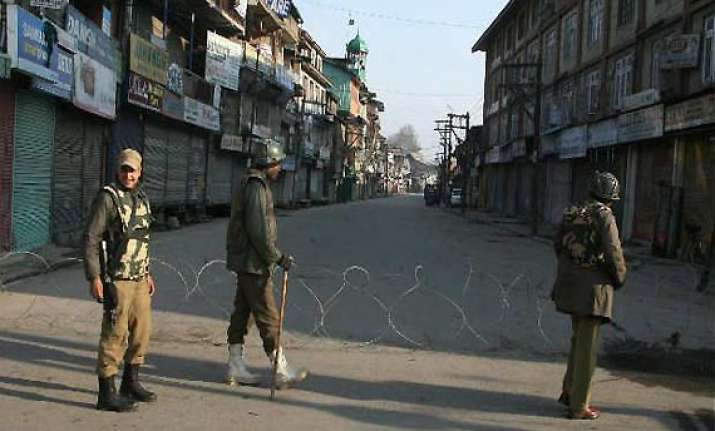curfew in poonch after clashes