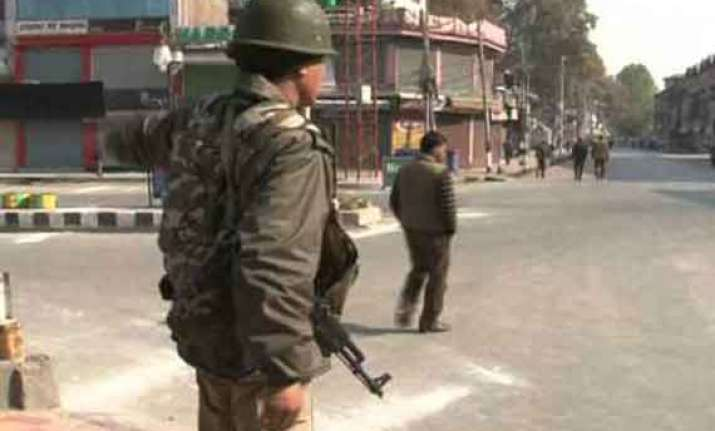 curfew like restrictions in valley for 2nd consecutive day