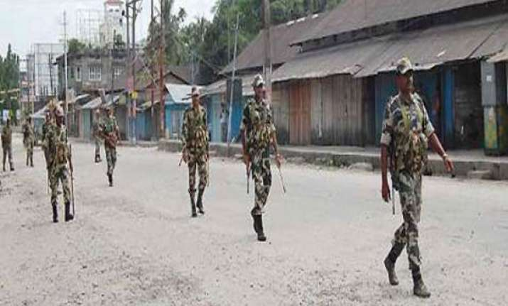 curfew continues in kokrajhar no fresh incidents