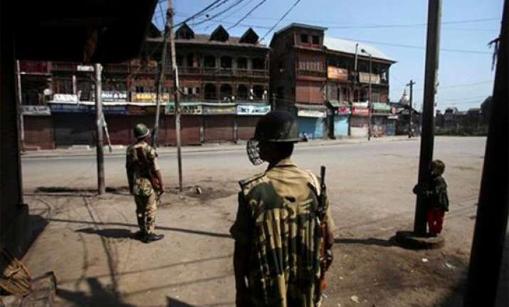 curfew imposed after security forces protesters clash in j k