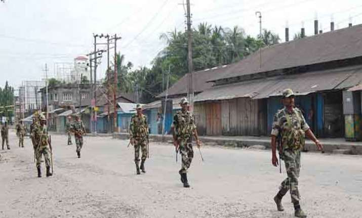 curfew relaxed for four hours in kokrajhar