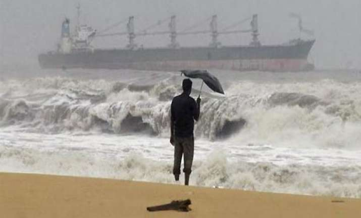 cyclone phailin striking ap employees return to work
