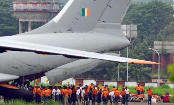 cyclone phailin army iaf navy alerted helicopters aircraft