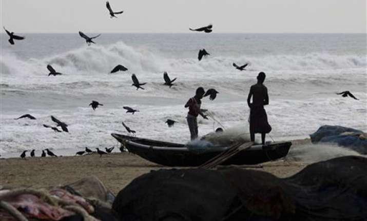 cyclone phailin ahead of cyclone rains lash odisha andhra