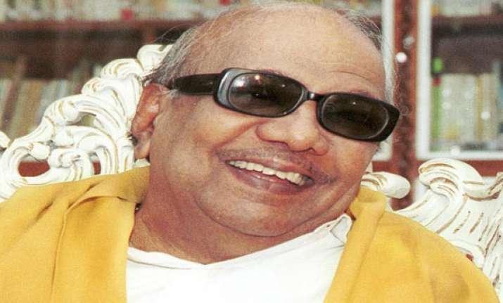dmk president m karunanidhi turns 91