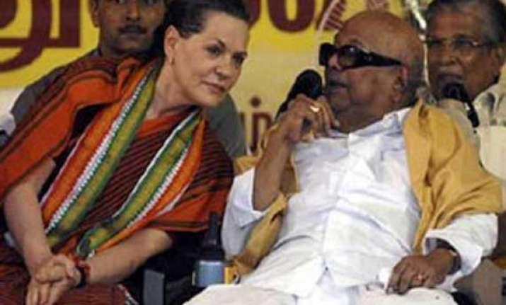dmk ready to support congress karunanidhi