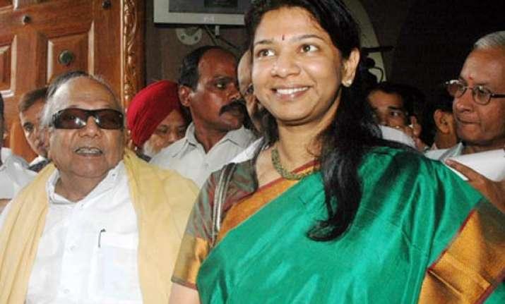 kanimozhi passes on blame to a raja order on bail plea on