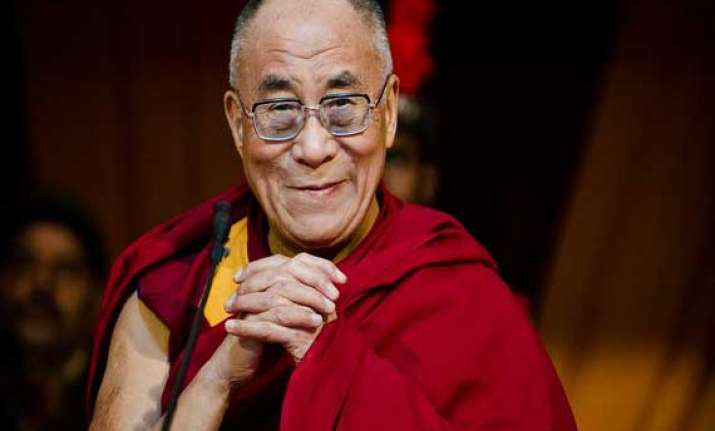 dalai lama greeted on his 79th birthday