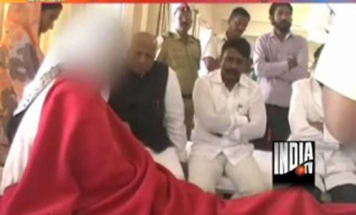 dalit woman paraded naked in maharashtra cm chavan s home