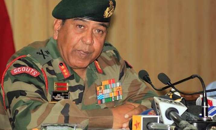 danger of militants from afghanistan entering kashmir army