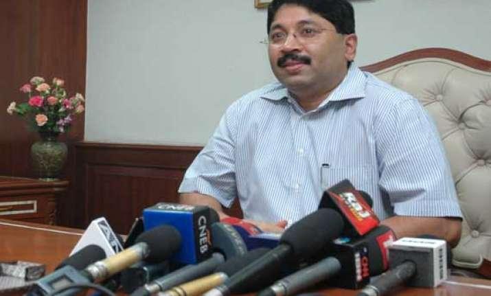dayanidhi maran woos hindi speaking population in chennai