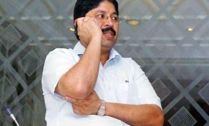 dayanidhi maran has come under scanner cbi tells sc