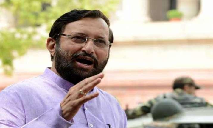 decision on critically polluted areas soon prakash javadekar