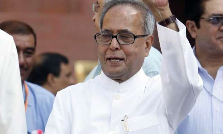 decision on fdi will be announced only in parliament pranab