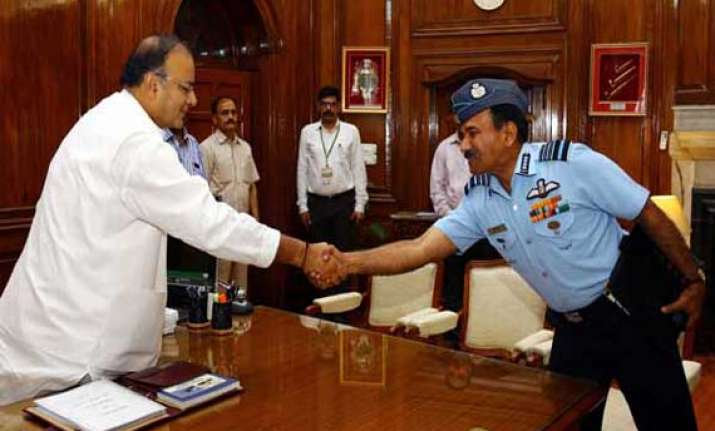 defence minister briefed on iaf s operational preparedness