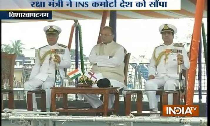 ins kamorta india s first indigenously built stealth