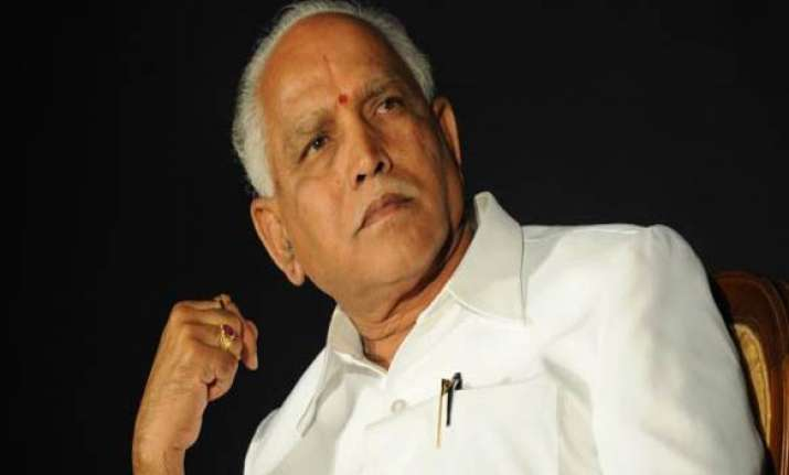 defiant yeddyurappa refuses to resign leaves for bangalore