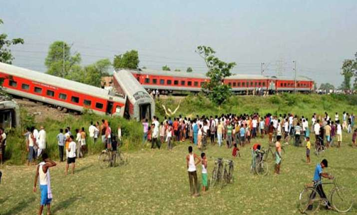 five killed in bihar train derailment sabotage ruled out