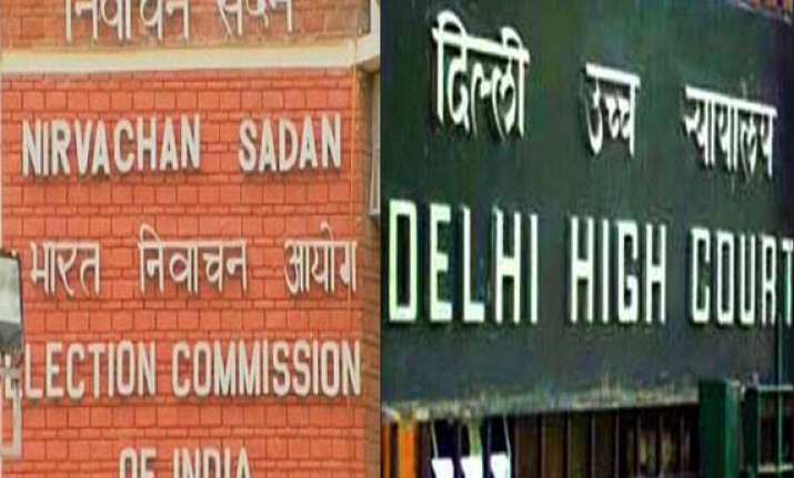 delhi hc notice to poll panel on plea for acceptance of