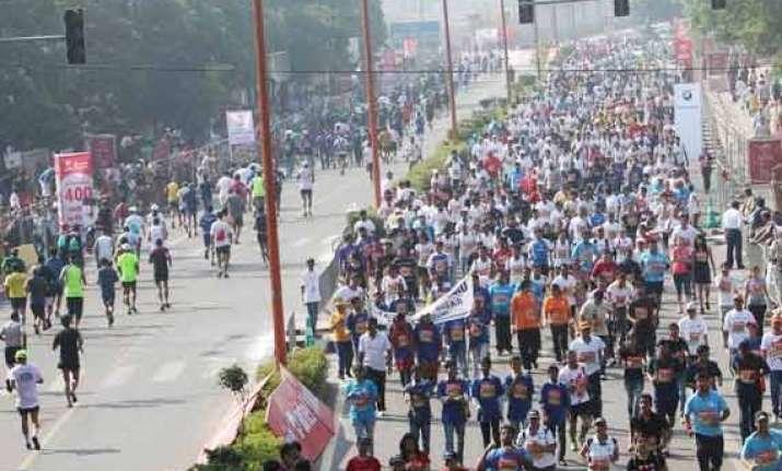 delhi half marathon to be held on november 23