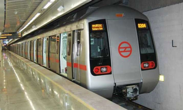 delhi metro completes tunneling work at lal quila station
