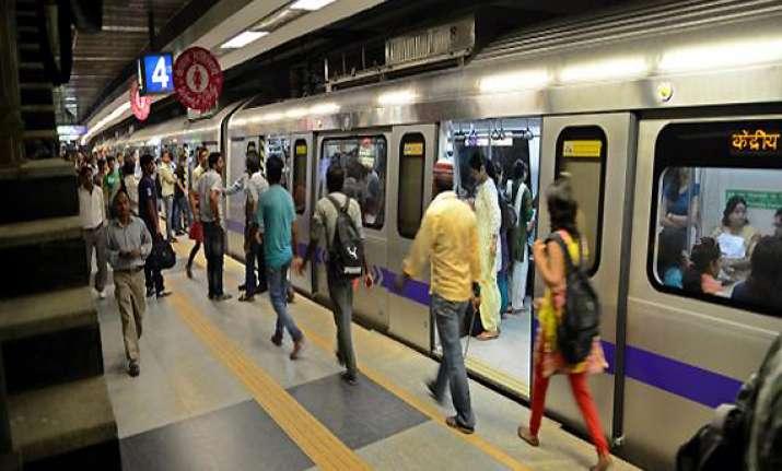 delhi metro sets ridership record with over 25 lakh