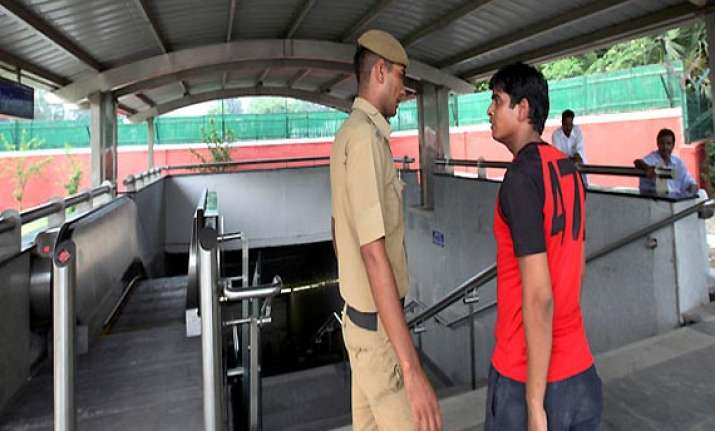 delhi metro shuts jor bagh and ina stations