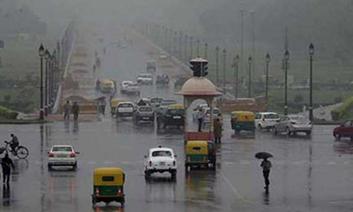 delhi rain likely in some parts of the city