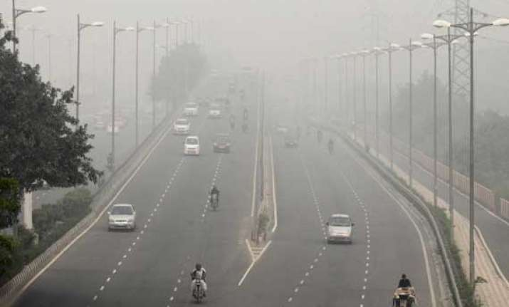 delhi has the worst air pollution in the world who study