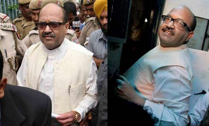 delhi high court grants bail to amar singh
