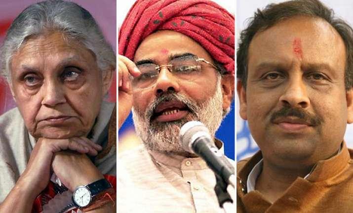 delhi mandate against sheila pricerise says bjp