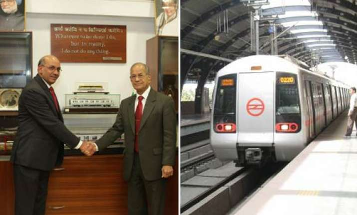 delhi metro rings in the new year under new chief