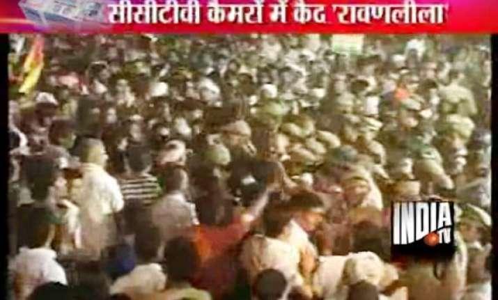 delhi police allegedly destroys cctv footage of ramlila
