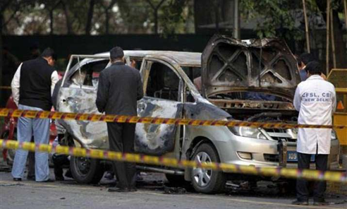 delhi police names 3 iranians in israeli embassy car blast
