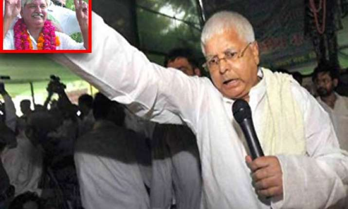 delhi rjd mla quits party to protest lalu s remarks against