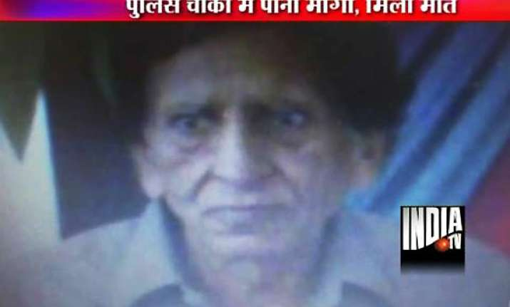 delhi senior citizen killed in fight over water with