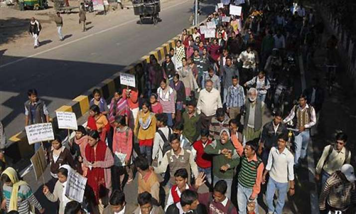from streets to raisina hill call for justice grows for