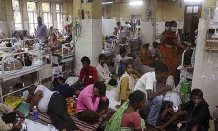 dengue leaves over 120 agra prisoners ill