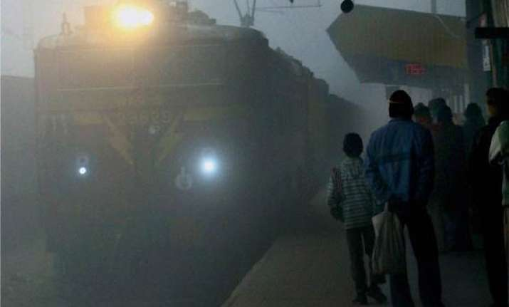 dense fog affects running of 66 trains