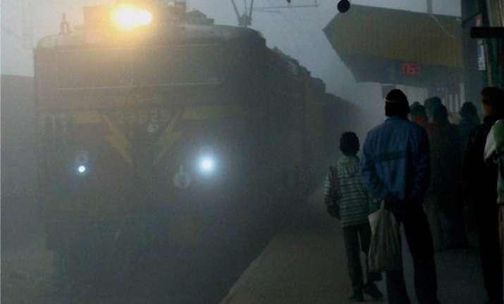 dense fog affects 69 trains