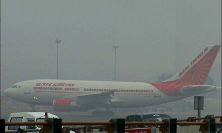 dense fog wreaks havoc at igi affects over 400 flights