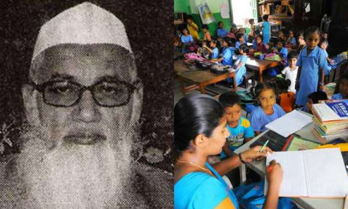 deoband slams right to education act to oppose it