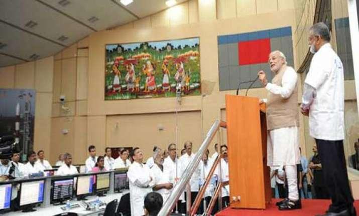develop saarc satellite to benefit neighbours narendra modi