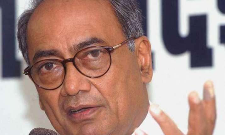 digvijay asks rss to show guts on kushwaha issue