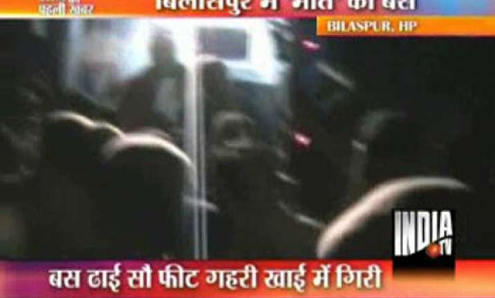 diwali rush caused hp bus mishap 25 killed 27 injured