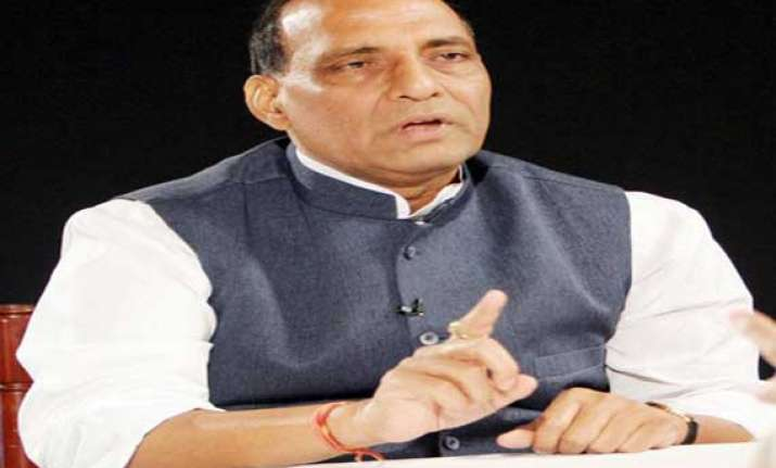 don t doubt our intention on shredded files rajnath singh